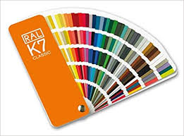 Ral Color Chart Amazon Ral K7 Color Fan Deck With 213 Ral Classic Colors Amazon