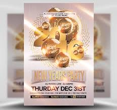 New Year Flyers Template New Year Party Flyer Template 2 Flyerheroes