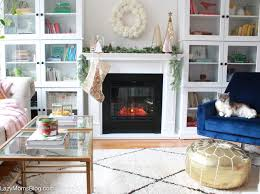 how to make electric fireplace look real