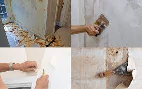 should i plaster my walls after taking