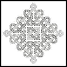Blackwork Cross Stitch Charts Celtic Blackwork