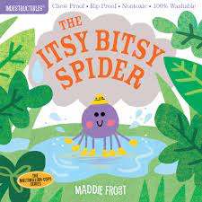 Indestructibles: The Itsy Bitsy Spider: Chew Proof - Rip Proof - Nontoxic -  100% Washable Book for Babies, Newborn Books, Safe to Chew: Amazon.de:  Frost, Maddie: Fremdsprachige Bücher
