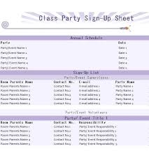 Party Sign Up Sheet Template Party Sign Template Free Up Sheet Valentine
