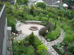 Small Picture Round Garden Design Ideas Round raised bed herb garden ideas