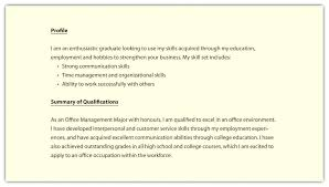 Profiles On Resumes Profiles For Resumes Foodcity Me