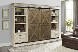 bookcase bookcase barn door shelves fantastic outstanding wall units with doors ikea white rustic wooden cabinet barn door bookcase