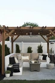 patio decking ideas small gardens