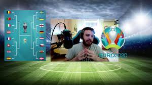 IL TABELLONE DEGLI OTTAVI DI FINALE EURO 2020 - YouTube