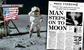 Image result for first step on the moon