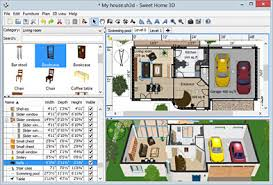 sweet home 3d draw floor plans and arrange furniture freely a
