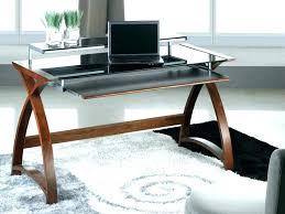 glass metal desk corner desks for metal desk black with glass top wooden home