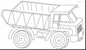 Small Picture superb dump truck coloring pages printable with semi truck