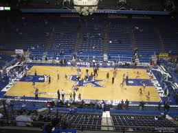 Rupp Arena Seating Chart Section 231 Rupp Arena Section 213 Kentucky Basketball Rateyourseats Com