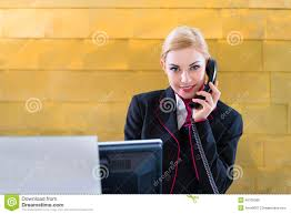 hotel receptionist phone on front desk stock photo image hotel receptionist phone on front desk