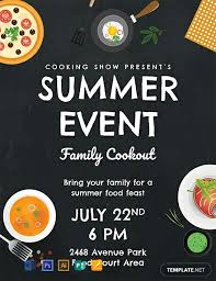 Event Flyers Free Free Summer Food Event Flyer Template Word Psd Apple