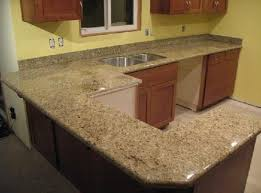 pre cut granite countertops on wooden countertops