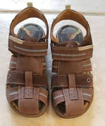 details about ecco toddler boys suede leather sandals shoes eu 31 us 13 13 5