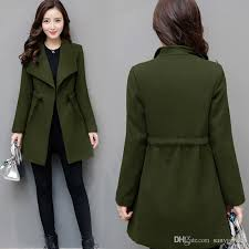 best plus size 3xl 4xl winter coat women new 2017 fashion turn down collar casual slim womens long wool coats and jackets oversized under 35 03 dhgate