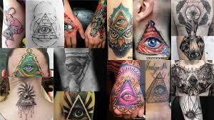значение тату глаз в треугольнике клуб татуировки фото тату