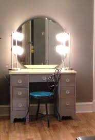 Mirror Lights Bedroom Diy Makeup Vanity Brilliant Setup For Your Room With Mirror Lights