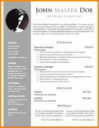 Free Resume Templates Doc Best Cover Letter