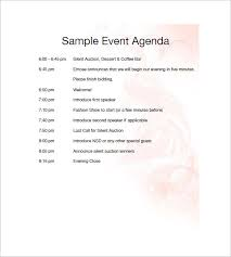 silent auction program template event agenda template beneficialholdings info