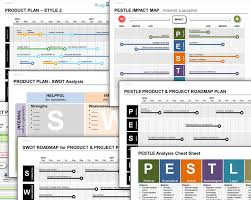 Project Roadmap Templates Project Planning Template Discount Bundle