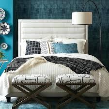Richmond White Bedroom Furniture Queen Size Open Foot Platform Bed ...