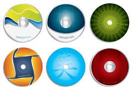 Cd Cover Vector Material 2 Download Free Vectors Graphic Design