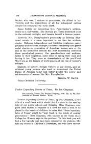 The Southwestern Historical Quarterly, Volume 45, July 1941 - April, 1942 -  Page 104 - The Portal to Texas History