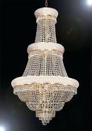 huge chandeliers