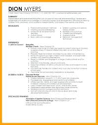 Babysitter Bio Example Resume Bio Example Professional Summary Examples Short Biography For