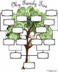 Free Family Tree Charts You Can Download Now Blank Family