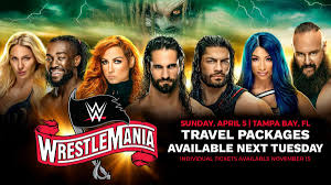 Wrestlemania 36 Travel Package Frequently Asked Questions Wwe