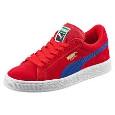 puma girl shoes. puma girls shoes suede jr sneakers barbados cherry-mazarine blue i66i8971,puma running sale,puma boots,various styles girl n