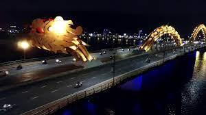 Flycam đẹp chưa từng có về Cầu Rồng Đà Nẵng - YouTube