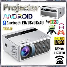 2020 <b>Newest GP200 1080P</b> Full <b>HD</b> Android Smart Projector WiFi ...