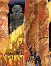 The Art of Leo and Diane Dillon: Leontyne Price: Aida