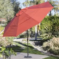 powered patio umbrella shade day aluminum rectangle patio umbrella patio umbrellas at hayneedle