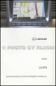 lexus lx wiring diagram manual original 2008 lexus lx 570 navigation system owners manual original