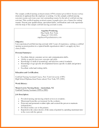 Cna Resume Examples Sample Cna Resume Sow Template 17