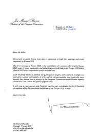 Successful Dli Launch Barroso Letter For Women Home Design Idea