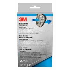 3m performance organic vapor replacement respirator cartridges 1 pair pack