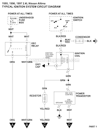 ignition system wiring diagram (1995 Electronic Ignition Wiring Diagram 95 Motorcycle Ignition Wiring Diagram