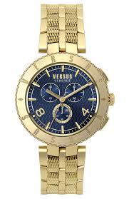 men s watch versus by versace new logo gold stainless steel men s watch versus by versace new logo gold stainless steel chronograph s76160017 e oro gr versus by versace watches