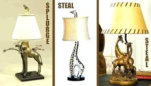 interesting lamp animal lamp base giraffe innovative ideas lamps enjoyable table best inspiration gold for g