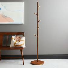 Lamp Coat Rack Combo MidCentury Coat Rack West Elm 25