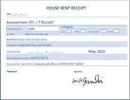 examples of rent receipts rent receipt word document 10 free rent receipt templates rent