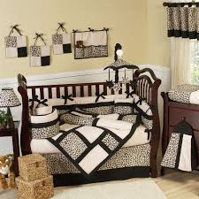 crib bedding sets for girls brown