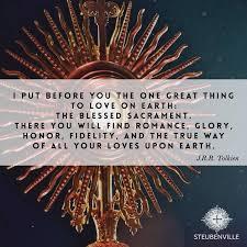 Catholic Quotes 2 Stunning CatholicLink English On Tolkien Earth And Eucharist
